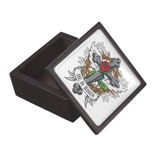 He Is Risen Premium Jewelry Boxes