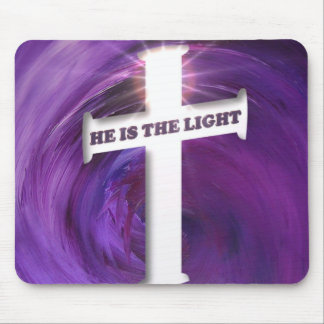 He is the Light Mouse Pad