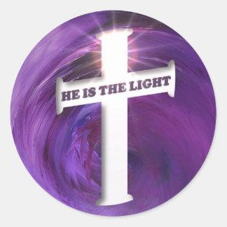 He is the Light Sticker