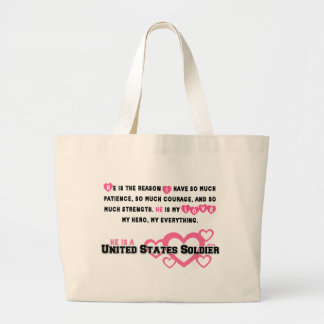 He Is The Reason Large Tote Bag