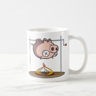 He Knew Too Much...Pig Roast Mugs