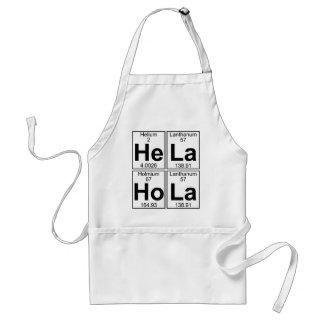 He-La Ho-La (hela hola) - Full Adult Apron