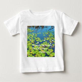 He Leads me Beside Still Waters Baby T-Shirt