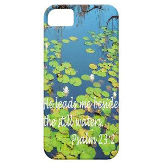 He Leads me Beside Still Waters iPhone SE/5/5s Case