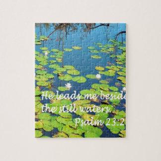 He Leads me Beside Still Waters Jigsaw Puzzle