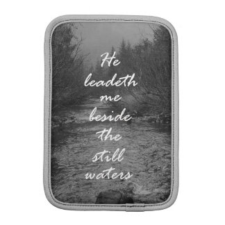 He Leads me Beside the Still Waters Bible Verse iPad Mini Sleeve