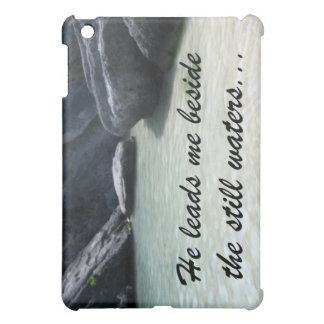 He leads me beside the still waters... iPad mini covers
