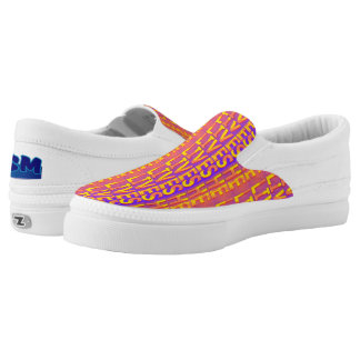 He Lives Christian Slip Ons Printed Shoes