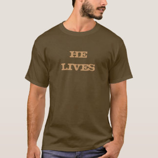 He lives christian t-shirt