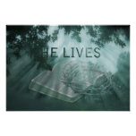 He Lives Easter Poster