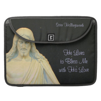 He Lives to Bless Me Sleeve For MacBooks