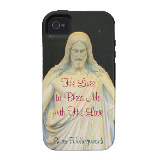 He Lives to Bless Me with His Love Case-Mate iPhone 4 Covers