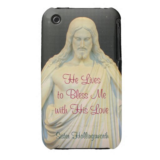 He Lives to Bless Me with His Love iPhone 3 Cases