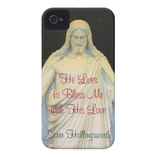 He Lives to Bless Me with His Love iPhone 4 Case