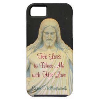 He Lives to Bless Me with His Love Hymn iPhone SE/5/5s Case