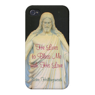 He Lives to Bless Me with His Love iPhone 4/4S Cover