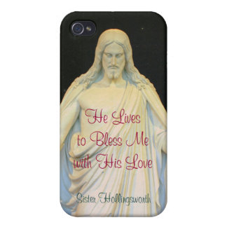 He Lives to Bless Me with His Love iPhone 4/4S Cases