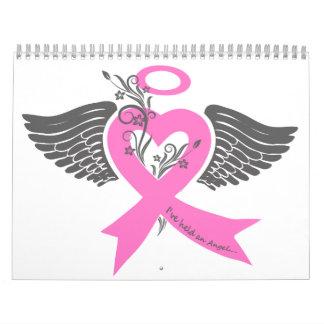 He llevado a cabo un ángel (el cáncer de pecho) calendario