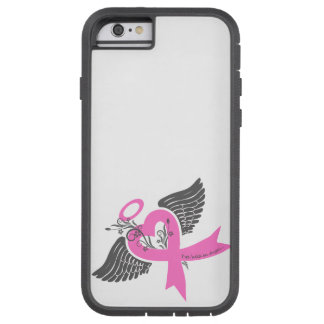 He llevado a cabo un ángel (el cáncer de pecho) funda tough xtreme iPhone 6