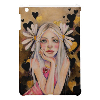 He Loves Me, He Loves Me Not Original Painting, Case For The iPad Mini