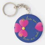 He loves me... keychain