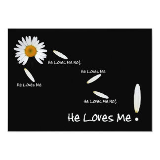 He Loves Me Wedding Save The Date Card