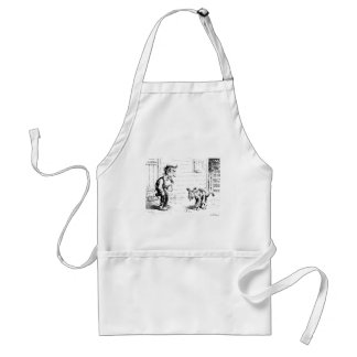He Made Some Hooch and Tried It on a Dog Adult Apron