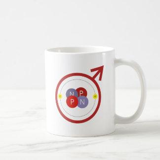 He-Man Helium Atom Geek Funny Logo Coffee Mug