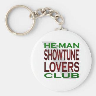 He-Man Showtune Lovers Club Keychain