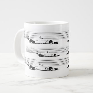 He Man's Racing Mug