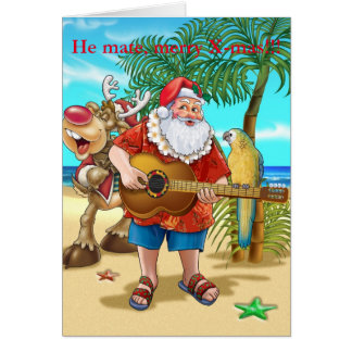 He mate, merry Chistmas Greeting Card