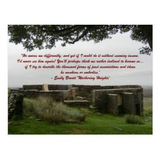 He Moves Me Differently - Wuthering Heights Post Cards