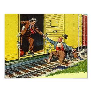 He movido el ~ de la invitación que cogía el tren