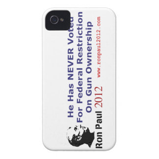 He Never Voted For Restriction on Gun Ownership iPhone 4 Case-Mate Cases