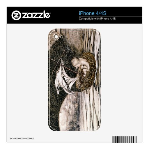 'He Passed Under the Bridge and Came Within Full S iPhone 4 Skin