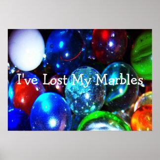 He perdido mi poster de los mármoles