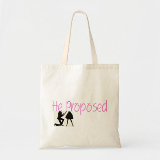 He Proposed Tote Bag