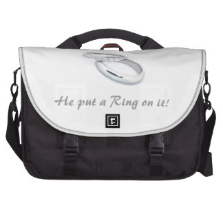 He Put a Ring on It Commuter Bag
