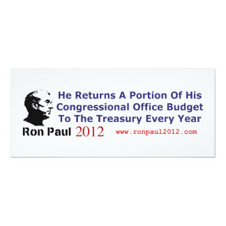 He Returns The Budget Money He Doesn't Use Card