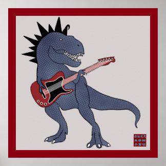 He-Rex Guitar Poster