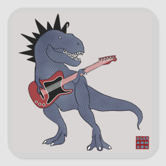 He Rex Guitar Stickers
