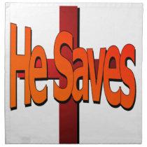 He Saves Napkins