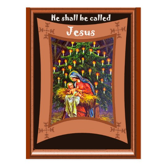 He shall be called Jesus Postcard