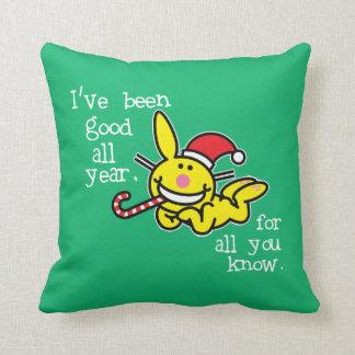 He sido bueno todo el año almohada