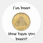 He sido Niza, moneda de Santa Pegatina