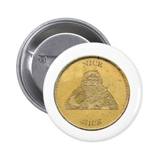 He sido Niza, moneda de Santa Pin Redondo 5 Cm