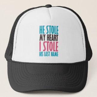 HE STOLE MY HEART BP.png Trucker Hat