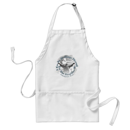 He Strengthens Me Adult Apron