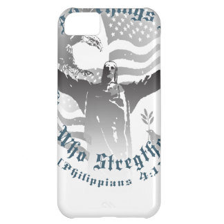 He Strengthens Me iPhone 5C Cover