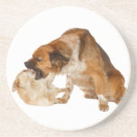 He talked too much! coasters